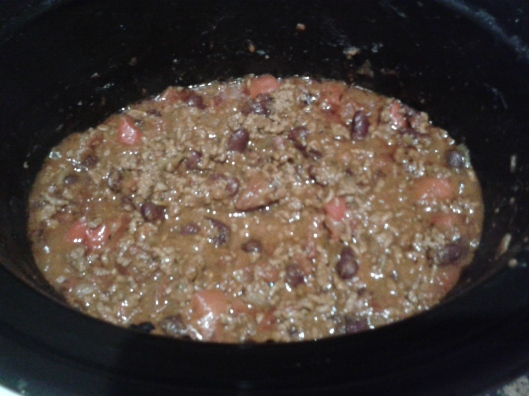 Slowcooker chilli con carne